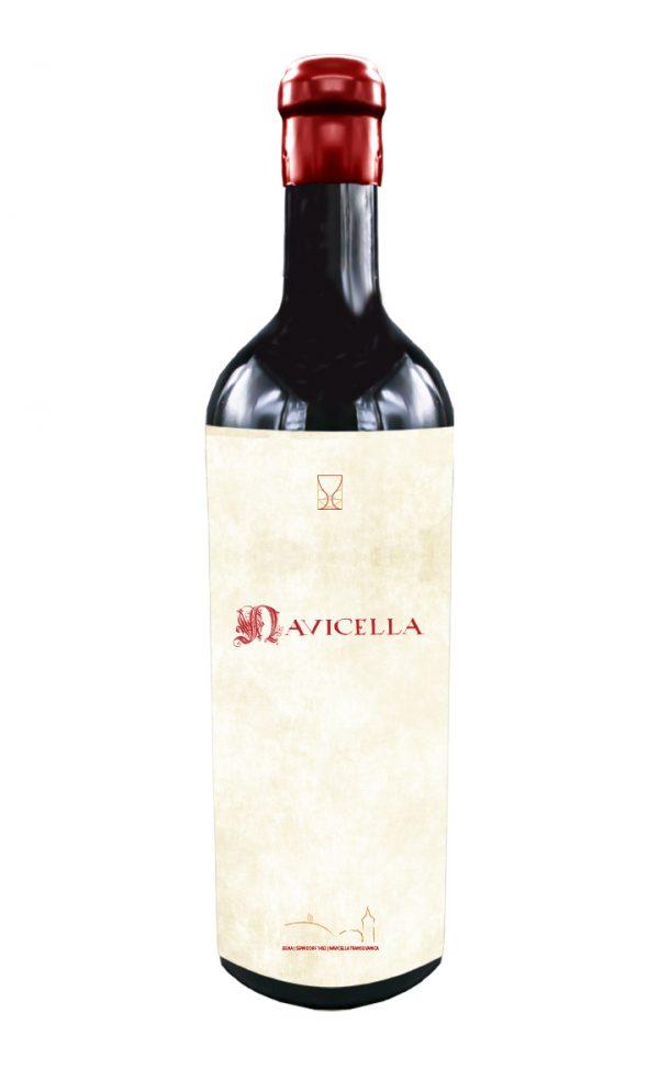 Navicella - 85% Pinot Noir, 9% Cabernet Sauvignon, 6% Merlot